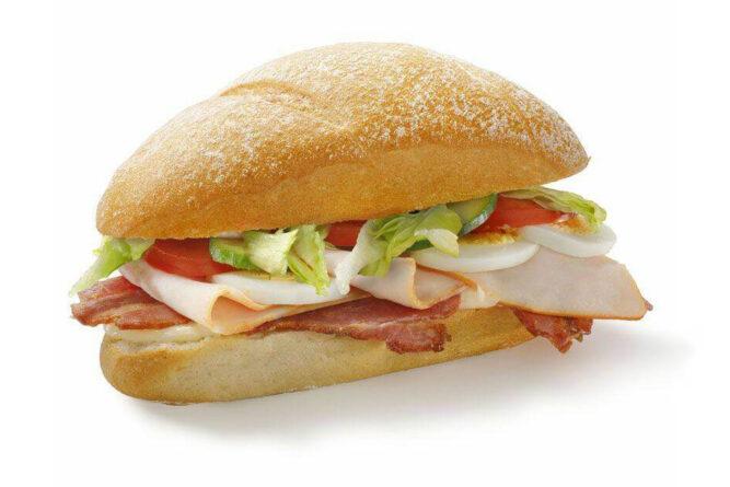 Broodje kip-bacon