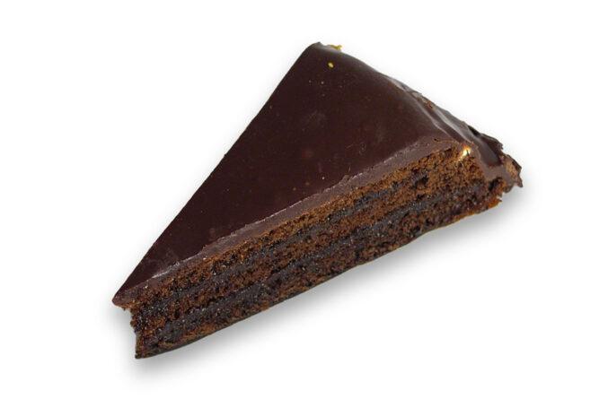 Chocolade taartpunt