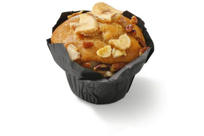 Muffin banaan pecan karamel