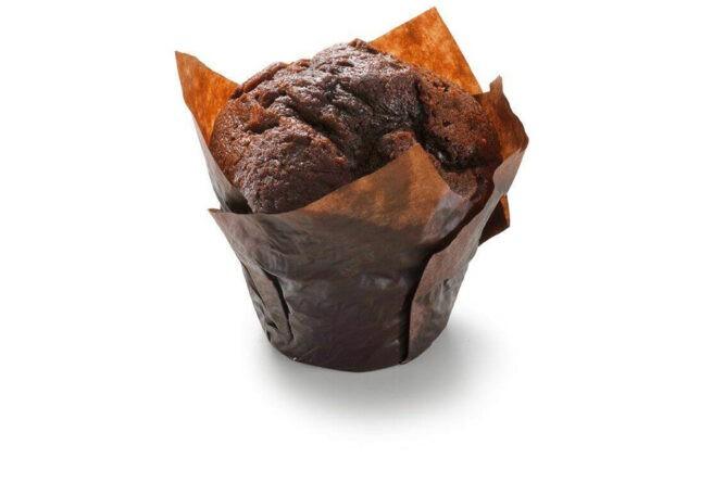 Muffin dubbel-chocolade