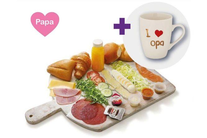 Vaderdag ontbijt luxe XL (opa)