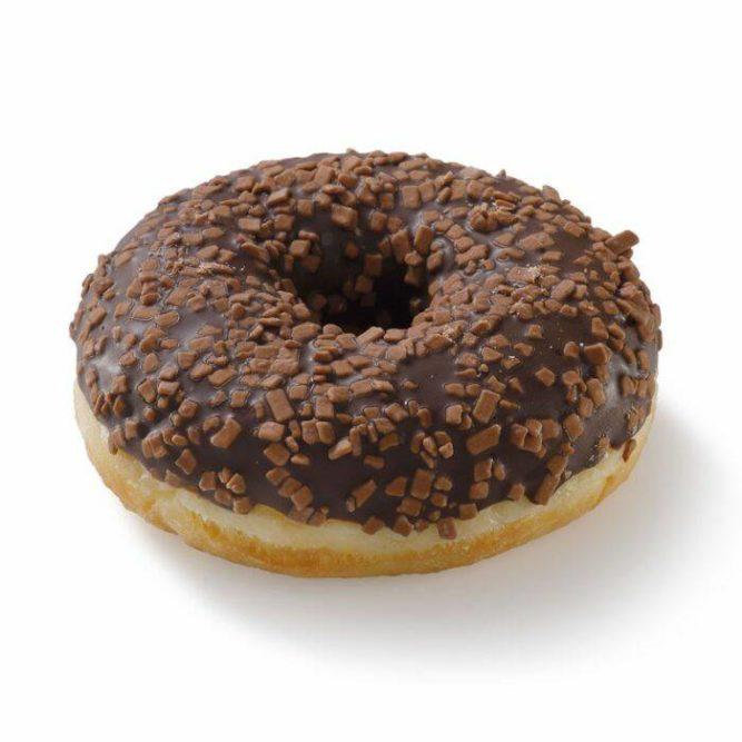 Donut choco crunchy