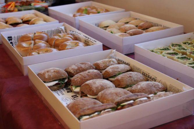 Broodjes bestellen in Dordrecht